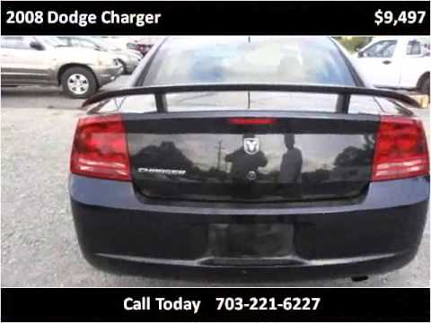 2008 Dodge Charger Used Cars Stafford VA