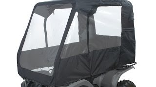 5. Deluxe ATV Cabin, Black