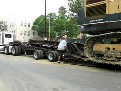 (PART THREE) HEAVY & OVERSIZE LOAD - REMOVABLE GOOSENECK - MURRAY SEMI-TRAILER