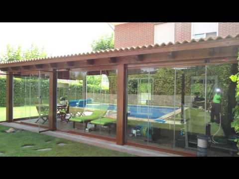 Celosias de madera para jardin videos videos for Celosias para jardin