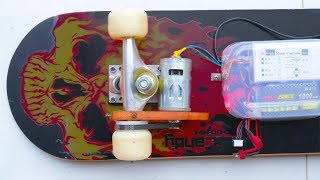 How to Make Electric Skateboard at Home