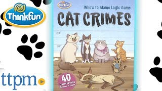 Cat Crimes from ThinkFun