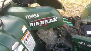 3. Overview: How to Check valves on a 2008 Yamaha Big Bear 400 IRS
