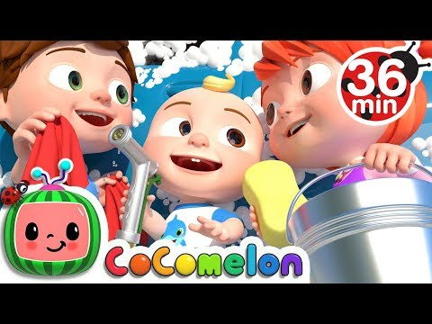 Car Wash Song + More Nursery Rhymes & Kids Songs - Cocomelon