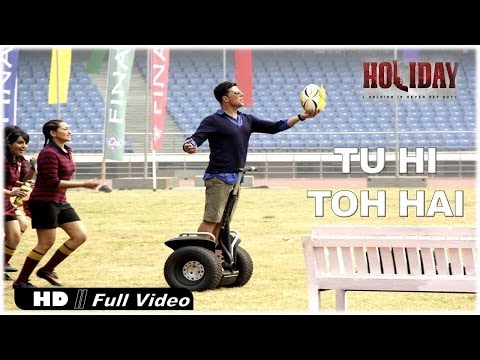 Check out the peppy number Tu Hi Toh Hai from Holiday - A Soldier is Never off Duty