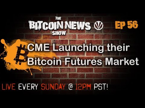 Bitcoin News #56 - A discussion about CME futures market video