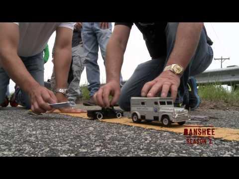 Banshee Season 2: Episode #1 Car Chase (Cinemax)