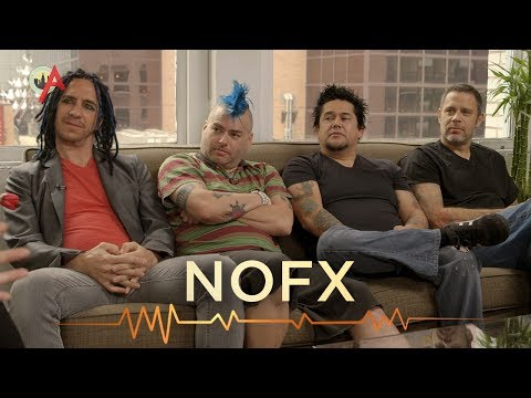 Video: NOFX mentions Green Day on Broadway