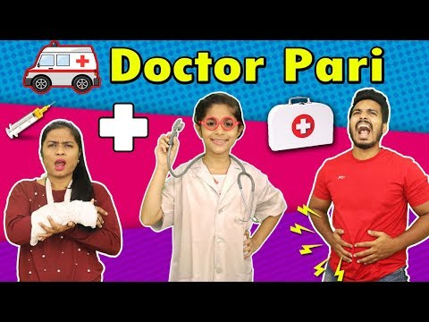 Kids Playing With Doctor Set | Doctor Pari On Duty | किड्स डॉक्टर सेट
