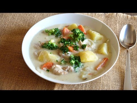 Cream Stew Recipe - Japanese Cooking 101