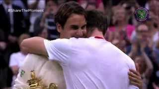 Roger Federer wins his seventh Wimbledon - #Federer7