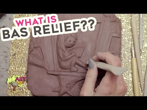 My First Time Trying BAS RELIEF Clay Sculpting!