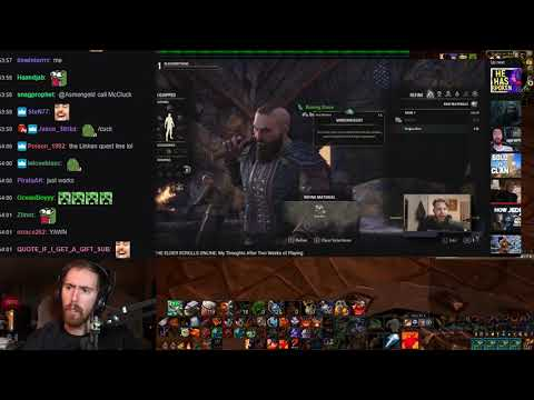 Asmongold Might Play Elder Scrolls Online!? Asmongold Watches Nixxiom's Eso Video