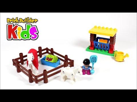 Vidéo LEGO Duplo 10806 : Les chevaux