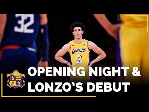Video: Lakers Opening Night And Lonzo Ball's Rookie Debut
