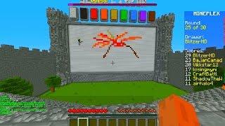 Minecraft DRAW MY THING #6 with Vikkstar, BajanCanadian&CraftBattleDuty