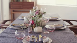 How To Throw A Dinner Party With Anthropologie