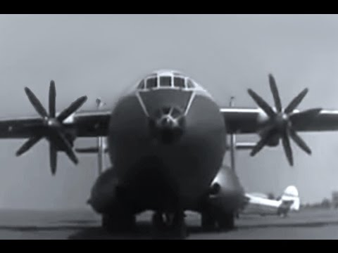 RARE footage of the mighty An-22...