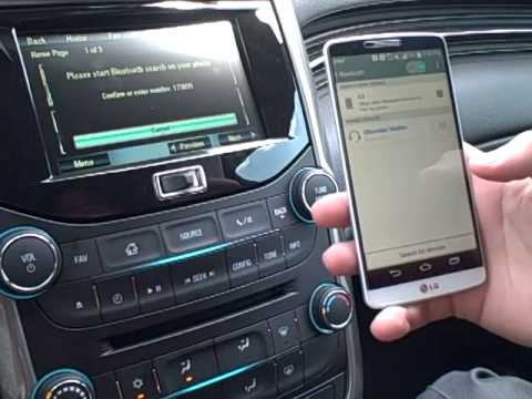 How To: Pair Your Android to 2015 Chevy Malibu Indianapolis IN