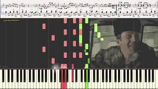 """Мелодия из к/ф """"Джентльмены удачи"""" (Ноты и Видеоурок для фортепиано) (piano cover)"""