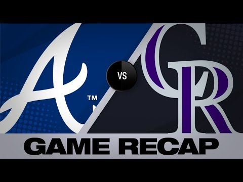 Video: Rox top Braves on McMahon's walk-off HR | Rockies-Braves Game Highlights 8/26/19