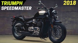 1. 2018 Triumph Bonneville Speedmaster - More Horsepower and Torque Than Bonneville T120