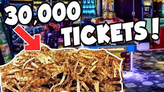 Video I WON 30,000 TICKETS FROM THE ARCADE!!! MP3, 3GP, MP4, WEBM, AVI, FLV Oktober 2018