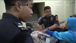 Video Menyelundupkan Narkoba di Sepatu, Kurir Sabu Tertangkap di Tanjungpinang - Customs Protection MP3, 3GP, MP4, WEBM, AVI, FLV Januari 2019