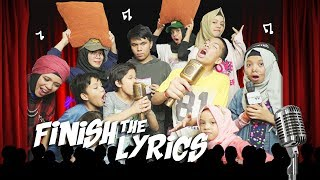 Video FINISH THE LYRIC CHALLENGE | GENHALILINTAR MP3, 3GP, MP4, WEBM, AVI, FLV Maret 2019