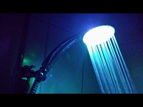 LED Duschkopf | Unboxing, Montage & Test (7 Farben)