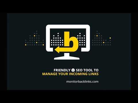 Monitor Backlinks SEO Tool - Video Tour