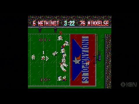 Tecmo Bowl Throwback Xbox Live Gameplay - Switching To Old