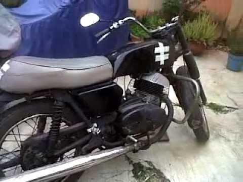 una moto de colección