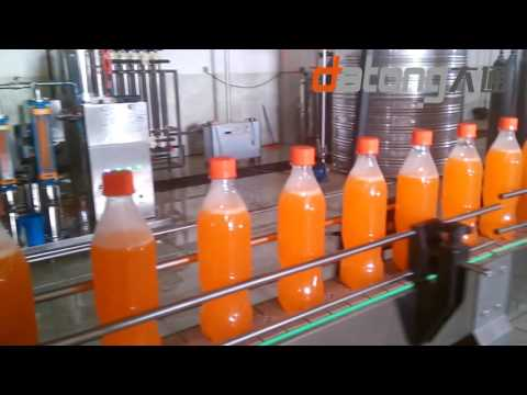 6000BPH Fenta Soft Drinks Filling Production Line From DATONG
