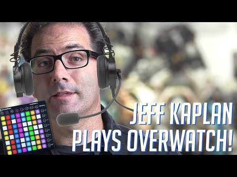 Jeff Kaplan Plays OVERWATCH! Soundboard Pranks in Competitive! (видео)