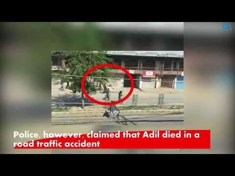 Youth dies after hit by police vehicle during clashes in Srinagar, video goes viral