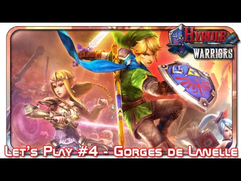 Let's Play Hyrule Warriors 4 - Gorges de Lanelle - Mode Difficile (Wii U)