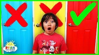 Video Don't Choose the Wrong Door Challenge with Ryan Nickelodeon Version !!! MP3, 3GP, MP4, WEBM, AVI, FLV Juni 2019
