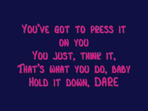 Gorillaz- Dare (Lyrics)