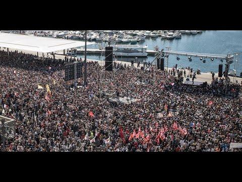 MÉLENCHON : Meeting pour la paix à Marseille - #JLMMarseille (видео)