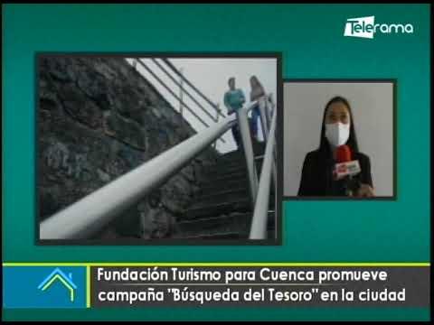 Fundación Turismo para Cuenca promueve campaña Búsqueda del Tesoro en la ciudad