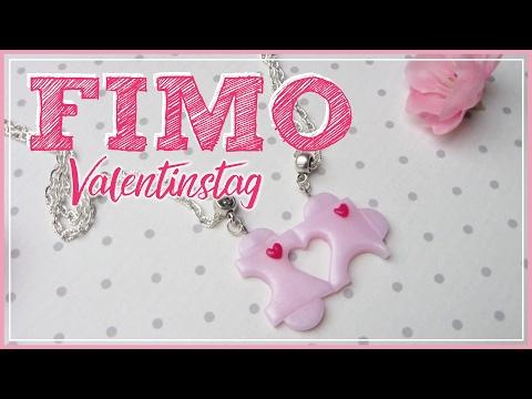FIMO PUZZLE Freundschaftskette ♡ VALENTINSTAG | how to