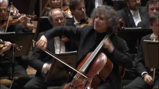 Ausschnitt aus Dvořáks Cellokonzert - Berliner Philharmoniker / Gilbert (Steven Isserlis)