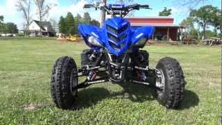 7. 2006 Yamaha Raptor 700R w/ a Hotcams Stage 2 camshaft & Barker Duals