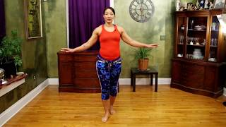 Shoulder Shimmy Practice Drill 30 Second Intervals Slow, Medium, Fast