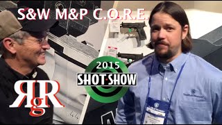 10. SHOT Show 2015 - S&W M&P C.O.R.E. (with M&P .22 Compact)