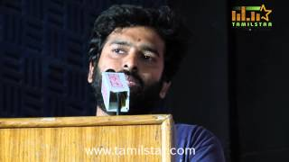 Music Director Santhosh Narayanan at Jigarthanda Movie Press Meet