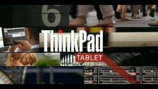 Lenovo ThinkPad Tablet Tour