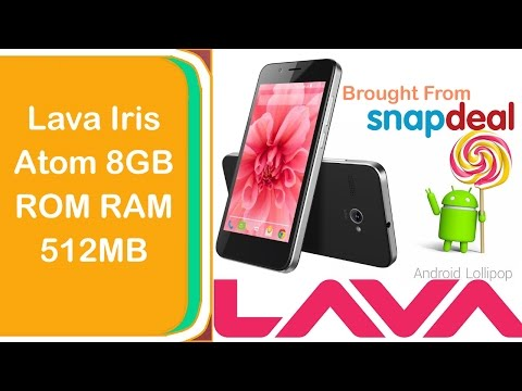 Lava Iris Atom 8GB ROM RAM 512MB Unboxing And Reviewed By Ur Indian TechWorld