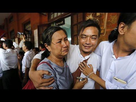 Μιανμάρ: Αποφυλάκιση πολιτικών κρατουμένων